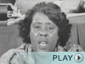 Fannie Lou Hamer's Testimony at the 1964 Democratic Convention.