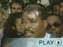 Rodney King Appeals for Calm in Wake of L.A. Riots.